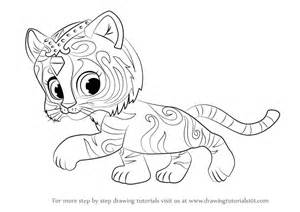 learn draw nahal shimmer shine shimmer shine step step drawing tutorials