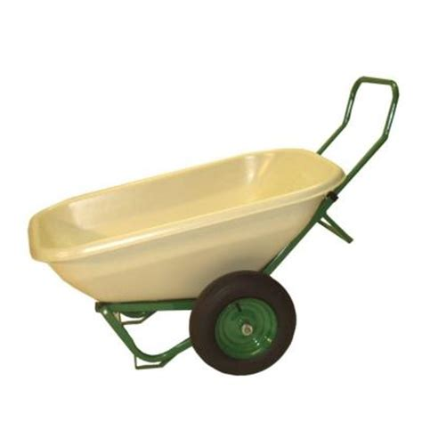 dandux loadumper 8 cu ft plastic wheelbarrow 42082 the