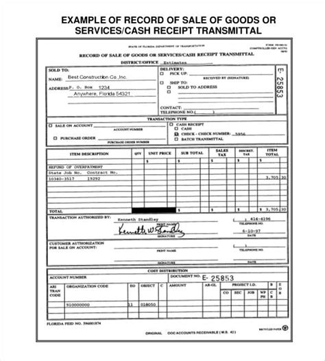 sales receipt template doc 29 sales receipt templates doc excel pdf free