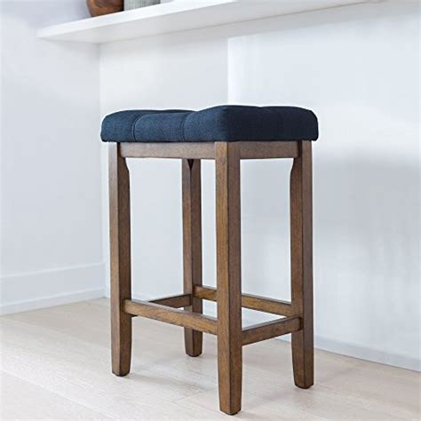 24 Inch Black Backless Bar Stools by Wood Kitchen Counter Bar Stool Backless Upholstered