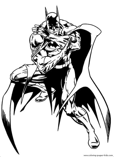 batman animated coloring pages batman color page