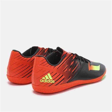 football shoes shop shop black adidas messi 15 3 indoor football shoe for mens