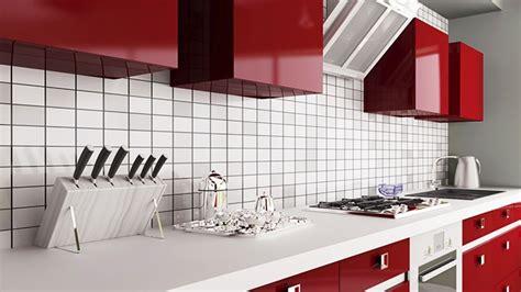 Tuile Metro Blanche by 3 Looks Pour Un Dosseret De Cuisine Tendance Inspiration