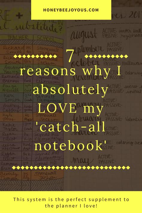 7 Reasons I Can Enjoy In The 30s by 7 Reasons Why I Absolutely My Catch All Notebook