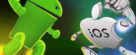 Ios Vs Android android and ios who takes the cake