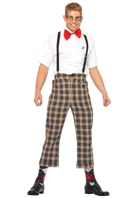 Nerd Costume Mens Nerdy Nerd Costume
