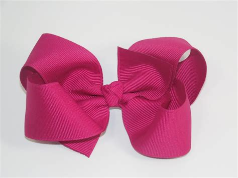 hair bows how to make a big boutique hair bow