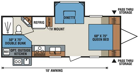 sportsman rv floor plans 2016 sportsmen show stopper s242sbhss travel trailer k z rv