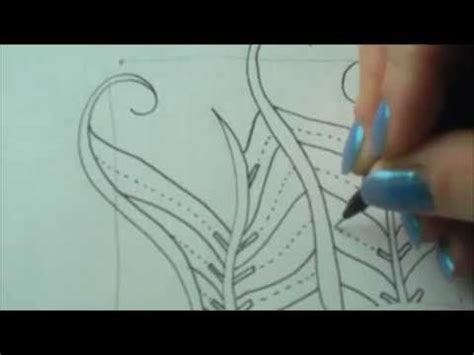 zentangle patterns tangle patterns finery youtube 38 best images about tangle finery on pinterest