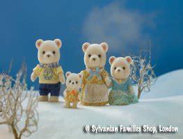 buy polaris polar bear family  sylvanian families