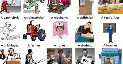 vocabulario de profesiones en ingles!!! english group