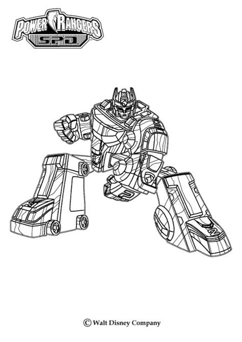power rangers robot coloring pages robot attack coloring pages hellokids com