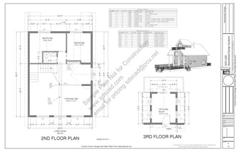 blueprints for cabins cabin blueprints sds plans