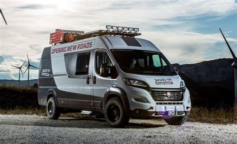 fiat cer vans 2015 fiat ducato 4x4 expedition concept teases new