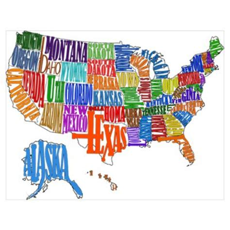 united states map poster united states map poster artsy maps