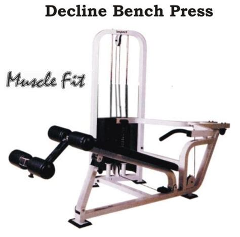 how to do decline bench press without a bench muscle fit