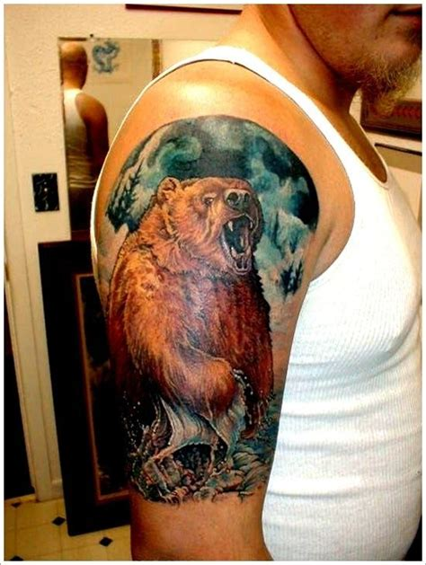 grizzly bear tattoos for men 56 best images on tattoos