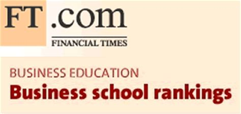 Financial Times Marketing Mba Rankings financial times msc in management ranking bath in global