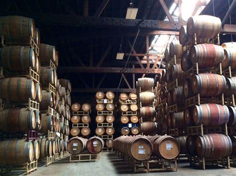 black bucks in a wine barrel room a visit to chicago s goose island co