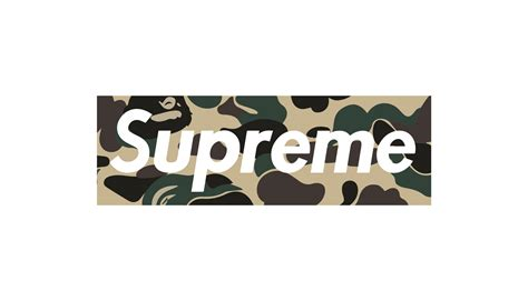supreme box logo supreme bape gallery