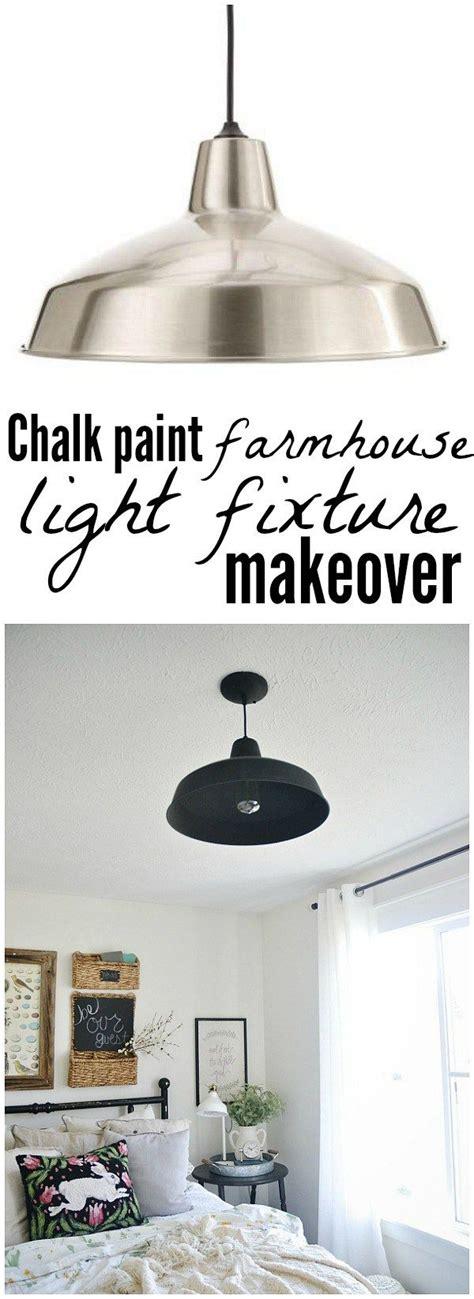 chalk paint light fixtures 1000 ideas about light fixture makeover on