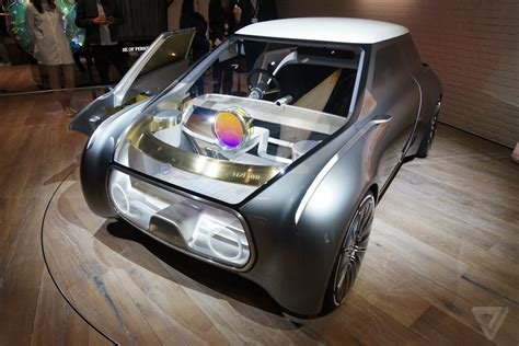 bmw minivan concept mini cooper transparent concept car is the future