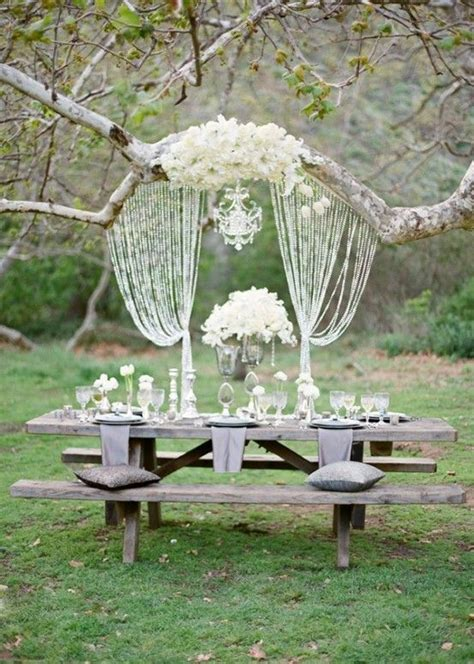 how to set up a backyard party outdoor table set up party details pinterest