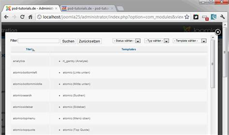 tutorial on joomla joomla 2 5 teil 33 eigene templates entwickeln 4