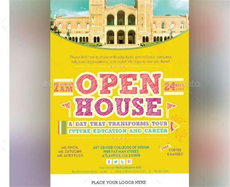 10 open house invitation template word psd and indesign
