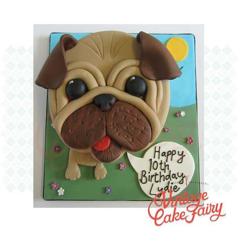 happy birthday pug cake lydie s pug birthday cake shareacake me shareacake me