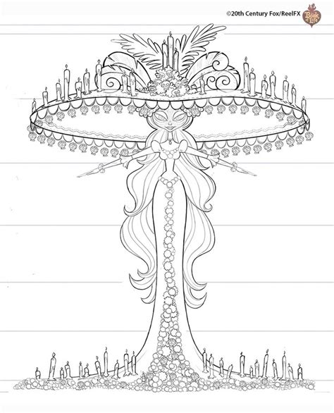 coloring pages the book of life 1000 images about coloring book pages on pinterest book
