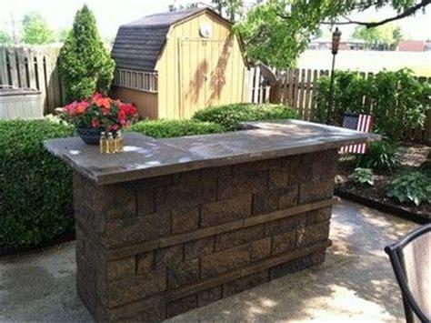 outdoor kitchens  bbq surrounds diy outdoor bar