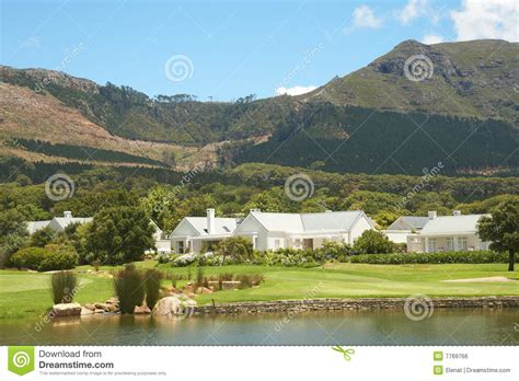 gulf landscaping golf course landscape in the mountains royalty free stock