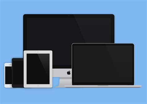wallpaper design responsive laptops flat graphic layout responsive devices designers