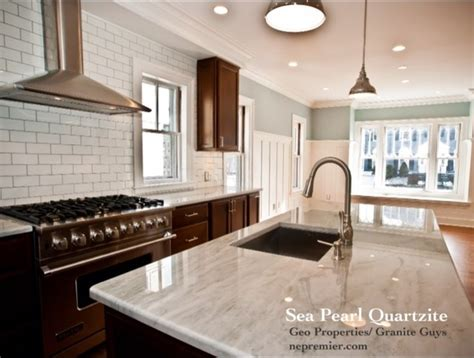 Tile Backsplash For Kitchens With Granite Countertops quartzite contemporary kitchen boston by premier