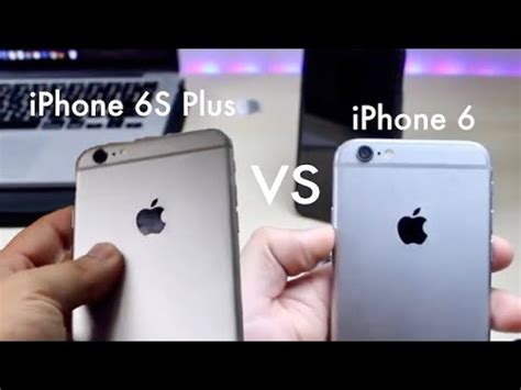 iphone 6 vs iphone 6s plus in 2018 comparison