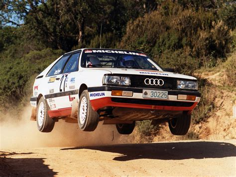 Rallye Auto 85 by Audi Coupe Quattro Rally Car 81 85 1985 88