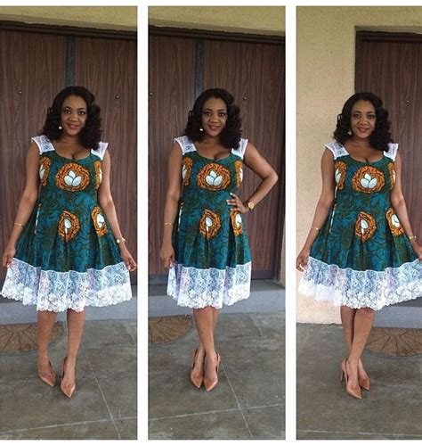 latest simple ankara styles simple ankara midi gown for ladies debonke house of fashion