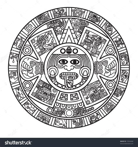 aztec calendar tattoo 19 unique aztec designs and ideas