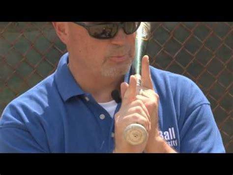t ball university batting grip & hand position www.tballu
