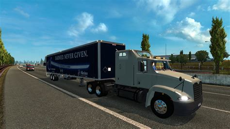 mod game euro truck mack vision truck for traffic for ets2 other euro