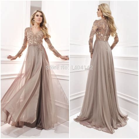 long sleeve lace prom dresses chiffon dresses for wedding long sleeve evening gown with