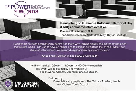 flyer design oldham your invitation to attend holocaust memorial day 2018