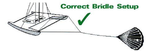 catamaran anchor bridle catamaran bridle advisory victor shane s drag device