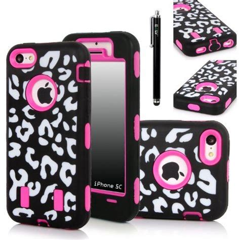 Soft Pink Leopard For Iphone 5c T0310 1 35 best images about iphone 5c cases on