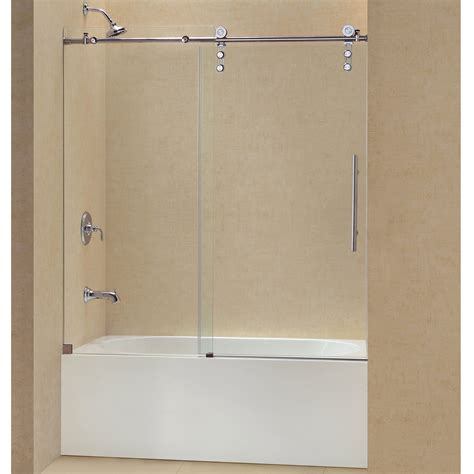 56 inch bathtub 59 inch bathtub dreamline enigma z 56 to 59 inch frameless