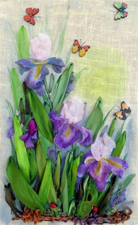 fiori ricamo 17 migliori idee su fiori di raso su di