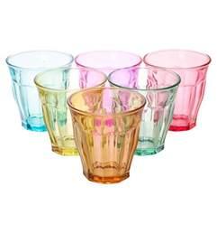 colored glasses sets 6pc set colored glasses 9oz 140500