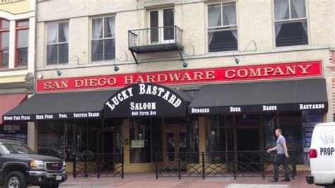 San Diego Hardware by Former San Diego Hardware Co Becomes Saloon San Diego