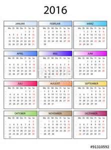 quot kalender 2016 bunte monate quot stockfotos und lizenzfreie
